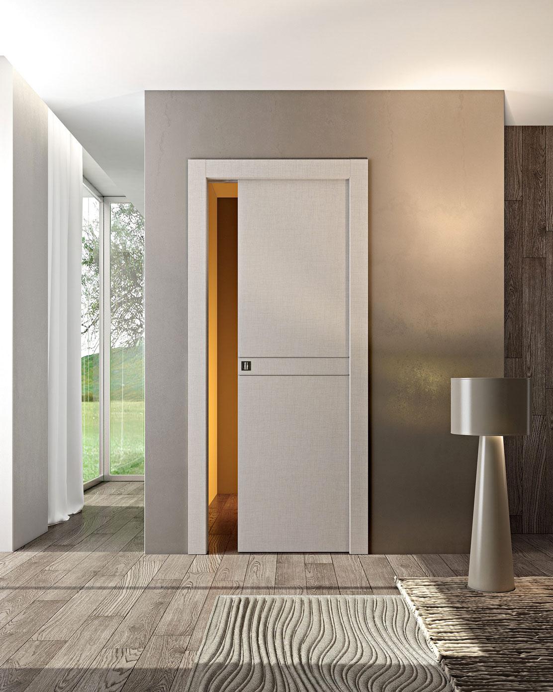 Porte scorrevoli interno muro tecnoserramenti trentino - Porte scorrevoli per interno ...